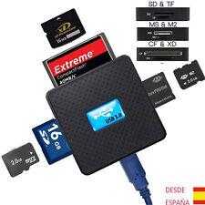 Lector de Tarjetas de Memoria Múltiple USB 3.0 Oara SDHC SDXC MMC SD CF Micro SD