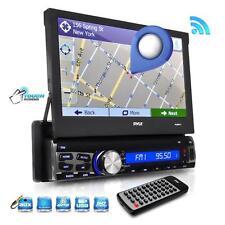 "New PLRNV71 7"" In Dash Touchscreen Navigation & Bluetooth AM/FM SD USB Receiver"