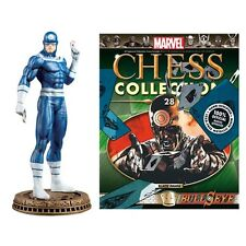 Eaglemoss * Bullseye * #28 Marvel Comics Magazine Chess Daredevil Black Pawn