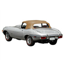 Jaguar XKE V12 Convertible Top 71-74, Buckskin Everflex
