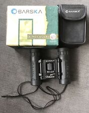 Barska 8x21 Binoculars 383ft/1000Yds 128m/1000m Pouch Great Condition