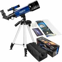 ❤EMARTH❤Telescope for Kids Beginners Adult 70mm Astronomical Refractor & Tripod