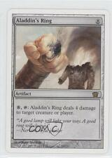 2003 Magic: The Gathering - Core Set: 8th Edition #291 Aladdin's Ring Card 0a7