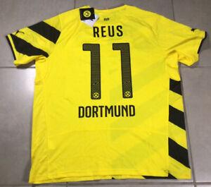 Mens BVB BORUSSIA DORTMUND Sz XL REUS #11 football soccer puma jersey Bundesliga