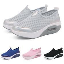 Women Slip On Platform Nurse Hospital Shoes Loafer Casual Sneakers Comfort Pumps