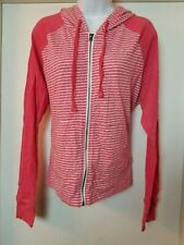 NWT Aeropostale sz XXL womens lightweight jacket hooded red/white