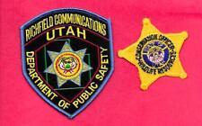 2 UTAH- WILDLIFE RESOURCES CONSERVATION OFFICER & UTAH DPS RICHFIELD COMM.