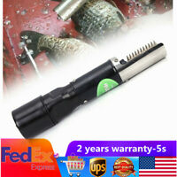 120W Electric Charging Tool Fish Scale Remover Cleaner Scaler Scraper Kitchen US