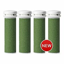 4-pack Xtreme Coarse Pedicure Refill Rollers Comp. with Emjoi Callus Remover
