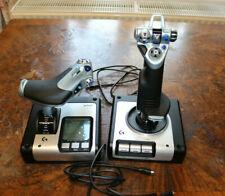 Logitech Gaming  X52 Hotas Flight Control System Flugsimulator-Joystick silber