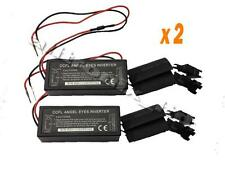 2 x Spare Inverters BMW E46 X3 X5 For CCFL Angel Eyes 12v