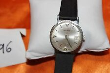 Vintage HILTON Hand Wind 3 Diamond SUB Dial Men's Dress Watch F97