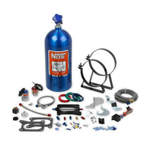 NOS Nitrous Oxide Injection System Kit 02120NOS; 125 HP Wet for Mustang Cobra