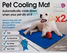 2X NUOVA il Negozio di animali Tappetino di raffreddamento per Cani & Gatti Blu Scuro migliori regali