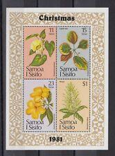 TIMBRE STAMP BLOC ILES SAMOA  Y&T#26 FLEUR FLOWER  NEUF**/MNH-MINT 1981 ~B63