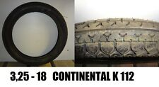 PNEUMATICO TYRE 3.25 325 3,25 325-18 325/18 3,25-18  CONTINENTAL K112