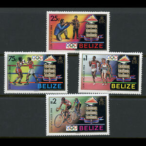 BELIZE 1984 Olympic Games. SG 784-787. Mint Never Hinged. (AX077)