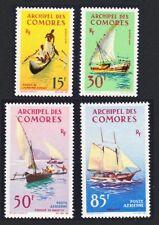 Mint Never Hinged/MNH Sailing Comoran Stamps