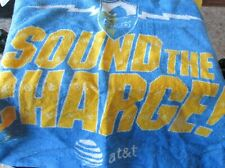 VINTAGE San Diego Chargers Rally Towel Stadium Give A Way AT&T Sponsor