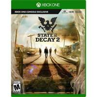 State of Decay 2 (Microsoft Xbox One, 2018) NEW