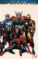 Marvel Comics: The Heroic Age Bendis Brubaker Remender Immonen Deodato TPB