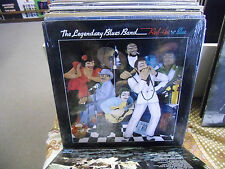 Legendary Blues Band Red Hot N Blue vinyl LP 1983 Rounder Records EX IN Shrink