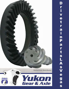 """High performance Yukon Ring & Pinion gear set for GM 11.5"""" in a 4.11 ratio"""