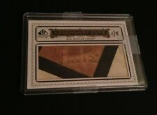 2009 UD SP LEGENDARY CUTS EXQUISITE COLLECTION KIKI CUYLER AUTOGRAPH AUTO 1/5