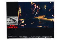 THE YAKUZA ROBERT MITCHUM  ORIGINAL 11X14 US LOBBY CARD #5