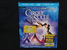Cirque du Soleil: Worlds Away (Blu-ray/DVD, 2013, 2-Disc Set)