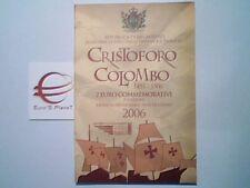 2 euro 2006 SAINT MARIN coffret San Marino Сан - Марино Colombo Colon Columbus