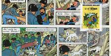 """FDC BELGIQUE """"100 ans Hergé - TINTIN et L'Affaire Tournesol"""" 2007 (TYPE 4)"""