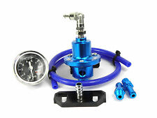 Toyota Starlet Glanza GT Turbo Blue Adjustable Fuel Pressure Regulator & Adapter