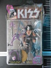 🎸 McFarlane Kiss Action Figure Album Paul Stanley Collectible Gold Vinyl Set 🎸
