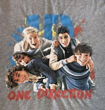 One Direction 1D Gray T-Shirt Size S Small Unisex