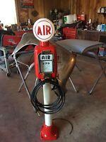 Vintage Eco  Air Meter Gas Oil Texaco Restored With Water Texaco AIR GLOBE