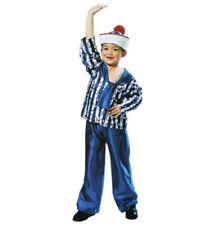 Kinderkostüm Matrosenjunge 2-teilig Hose und Oberteil in blau-weiß 12961413PW