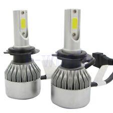 2X H7 72W LED Luz LED Faro Coche Xenon Headlight Bombilla Kit Conversión SG