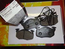 229971 RENAULT 5 SUPER FUEGO PUGEOT 205 SERIE PASTIGLIE ANTERIORI 20906