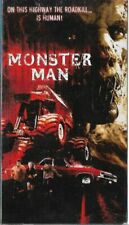 Monster Man VHS, 2004 Strong Horror Violence & Gore Roadkill is Human