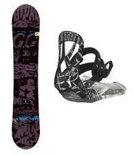 HEAD Evil Youth 118 Rowdy JR Kinder Snowboard Set inkl. NITRO Bindung Anfänger