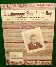 Chattanoogie Shoe Shine Boy, Sheet Music © 1950, RED FOLEY on Cover