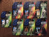 Star Wars Power Of The Force Luke Skywalker Figure Lot Kenner Hasbro POTF 95-98
