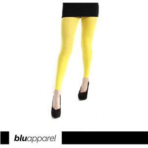 50 Denier Opaque Footless Tights 25 Colours Size UK 8-24 Plus Size RRP £9.99