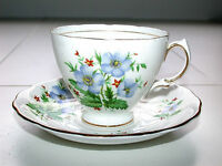 Beautiful Antique Post 1921 Colclough Bone China B7 England Cup & Saucer