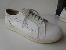 HELVESKO Damen Soft Schuhe Leder Weiß Switzerland Gr.38 TOP