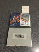 Vintage Russell Gladstone Cabin Canasta Double Deck Playing Cards w Case