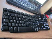 1 x CLAVIER AZERTY FRANCAIS USB AVEC LECTEUR CARTES A PUCE SMARTCARD DELL 0KW224