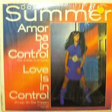 """DONNA SUMMER  Love Is In Control (Amor Bajo Control) 12"""" VG++ shrink RARE MEXICO"""
