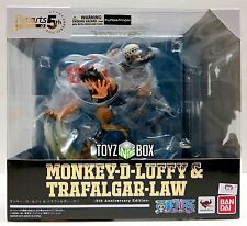 "In STOCK Bandai S.H Figuarts Zero One Piece ""Monkey D. Luffy + Trafalgar Law"""